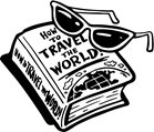 Clipart of travel book.