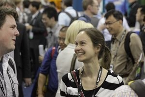 Photo: Poster session in the exhibit hall