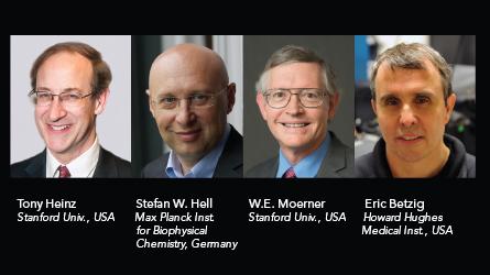 Plenary I Presenters: Tony Heinz, Stefan Hell, W.E. Moerner,Eric Betzig