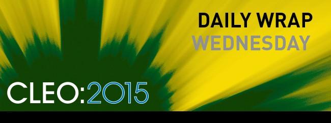 CLEO Daily Wrap: Wednesday